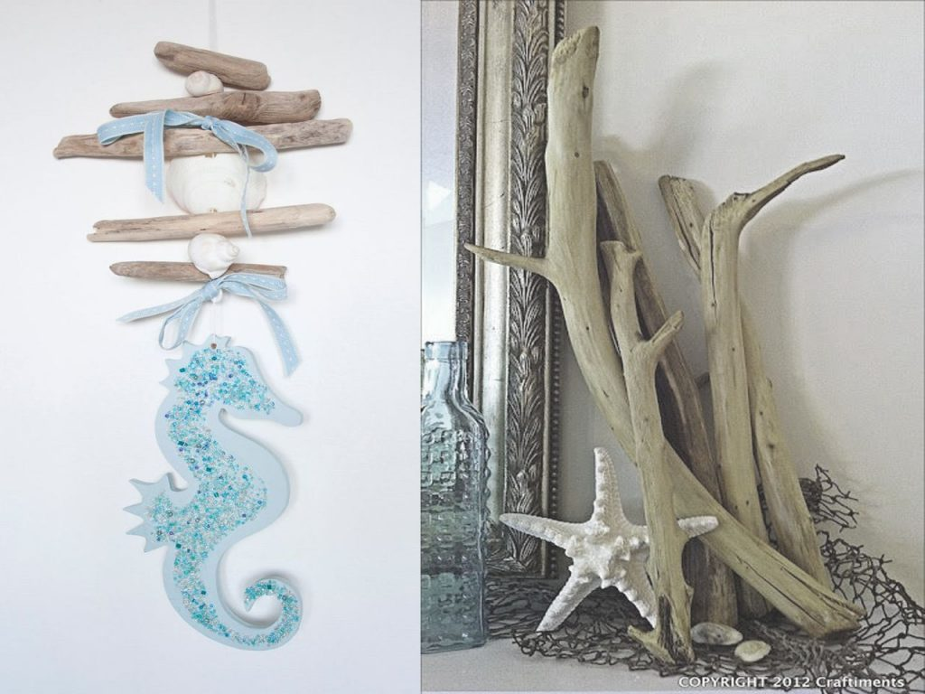 decoración marinera palitos de mar