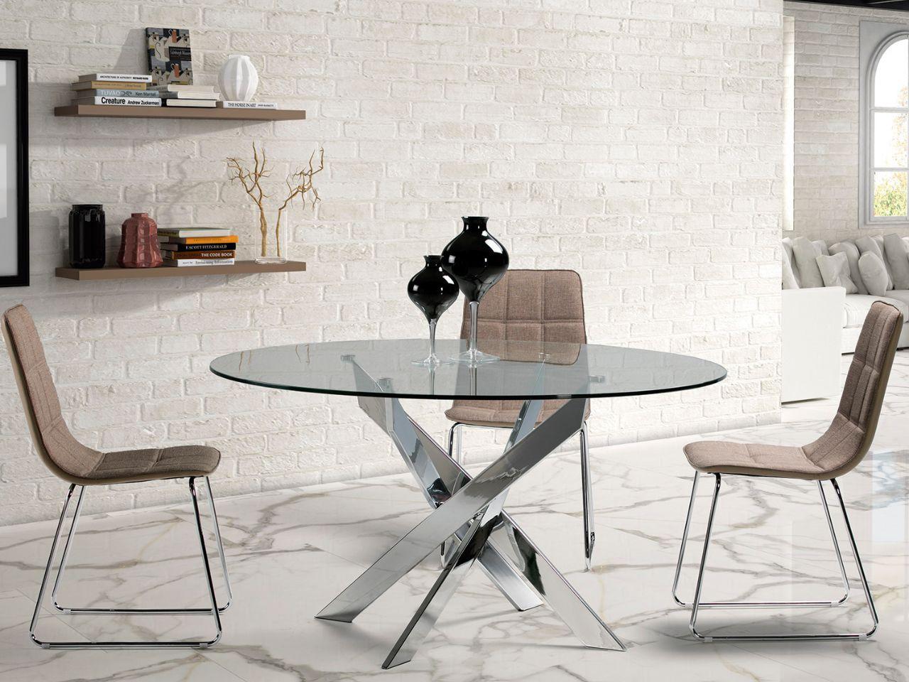 Mesas comedor blancas mesa de comedor cuadrada vintage for Mesas de salon blancas