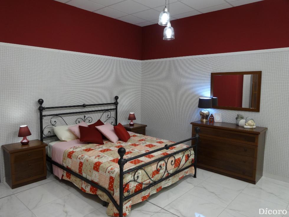 Dormitorio Firenze en cerezo en las tiendas Dicoro