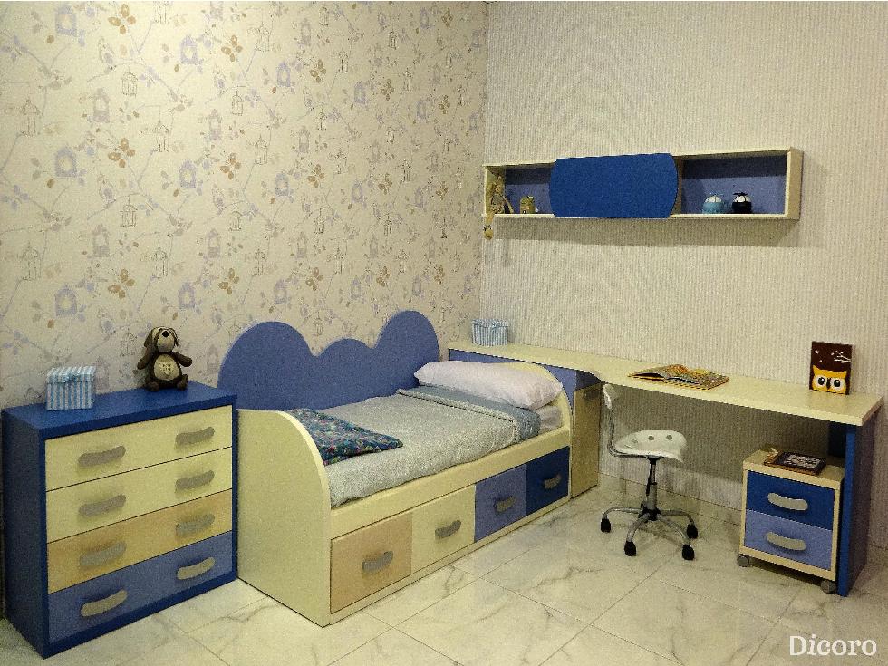 Habitaciones infantiles para descansar tranquilamente