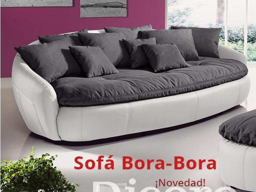 ¡Un sofá inspirado en las playas tropicales! Nuevo Sofá Bora-Bora