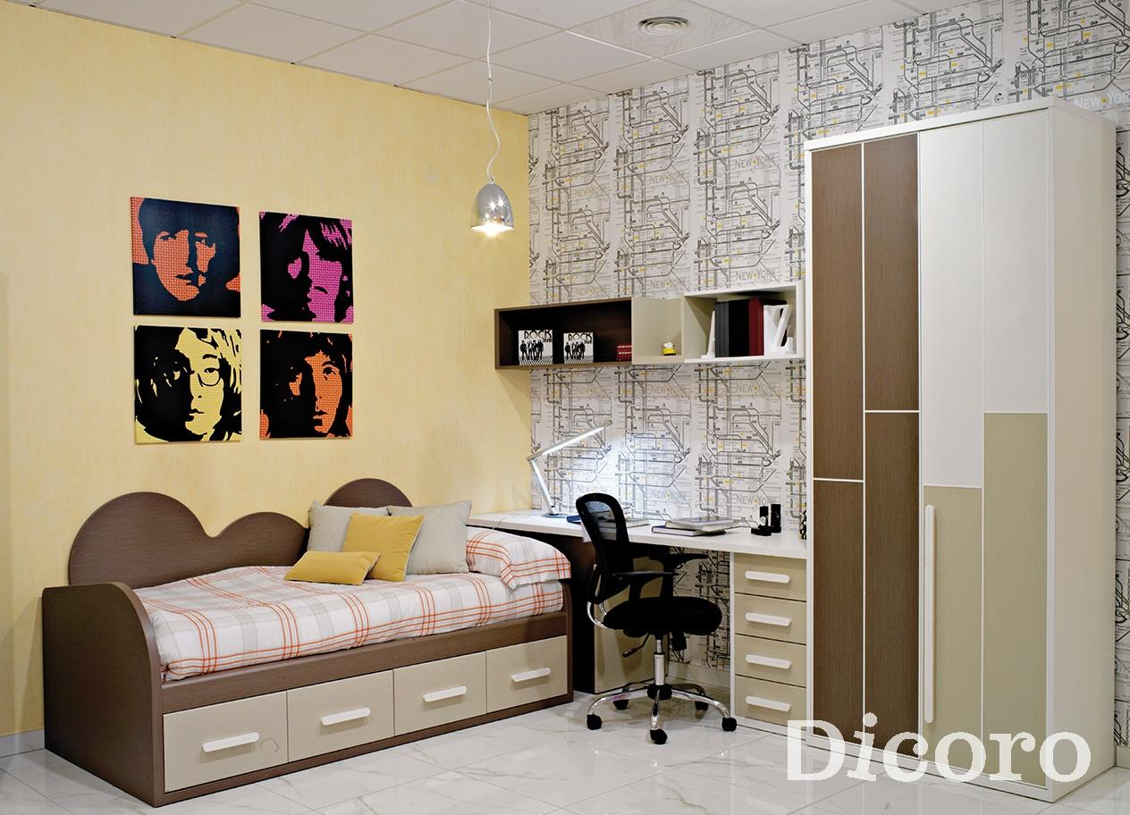Decorar ideas de dormitorio de adolescente