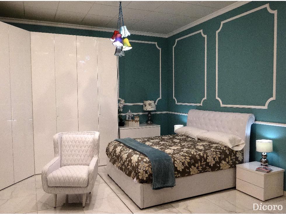 Dormitorio Cherry clásico, tradicional y elegante.