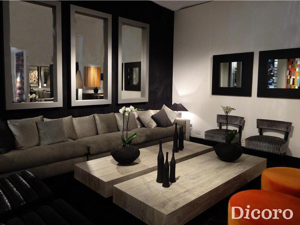 Jugando con espejos en todos los rincones de la casa for Decorar paredes con cuadros y espejos