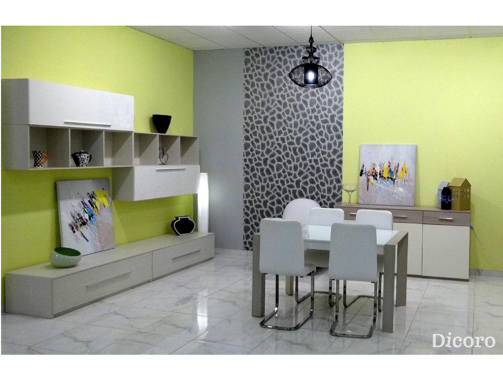 Un salón con estilo, atrevido y elegante con Dicoro