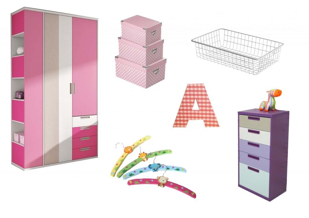 Organizando el armario de los peques.