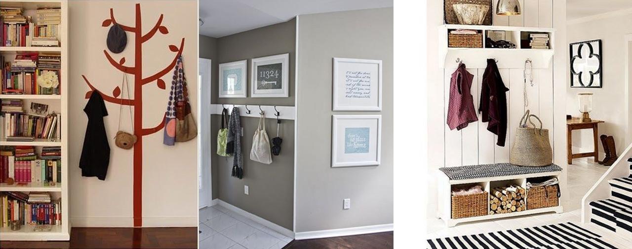 Ideas de decoraci n recibidor sorprende a tus invitados - Entradas con percheros ...