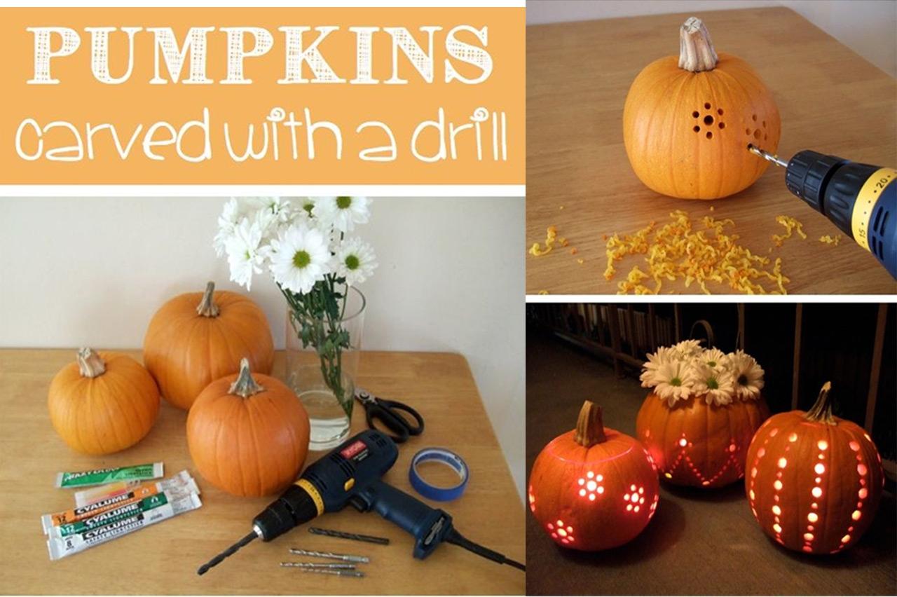 Decoraci n halloween - Como hacer calabaza halloween ...