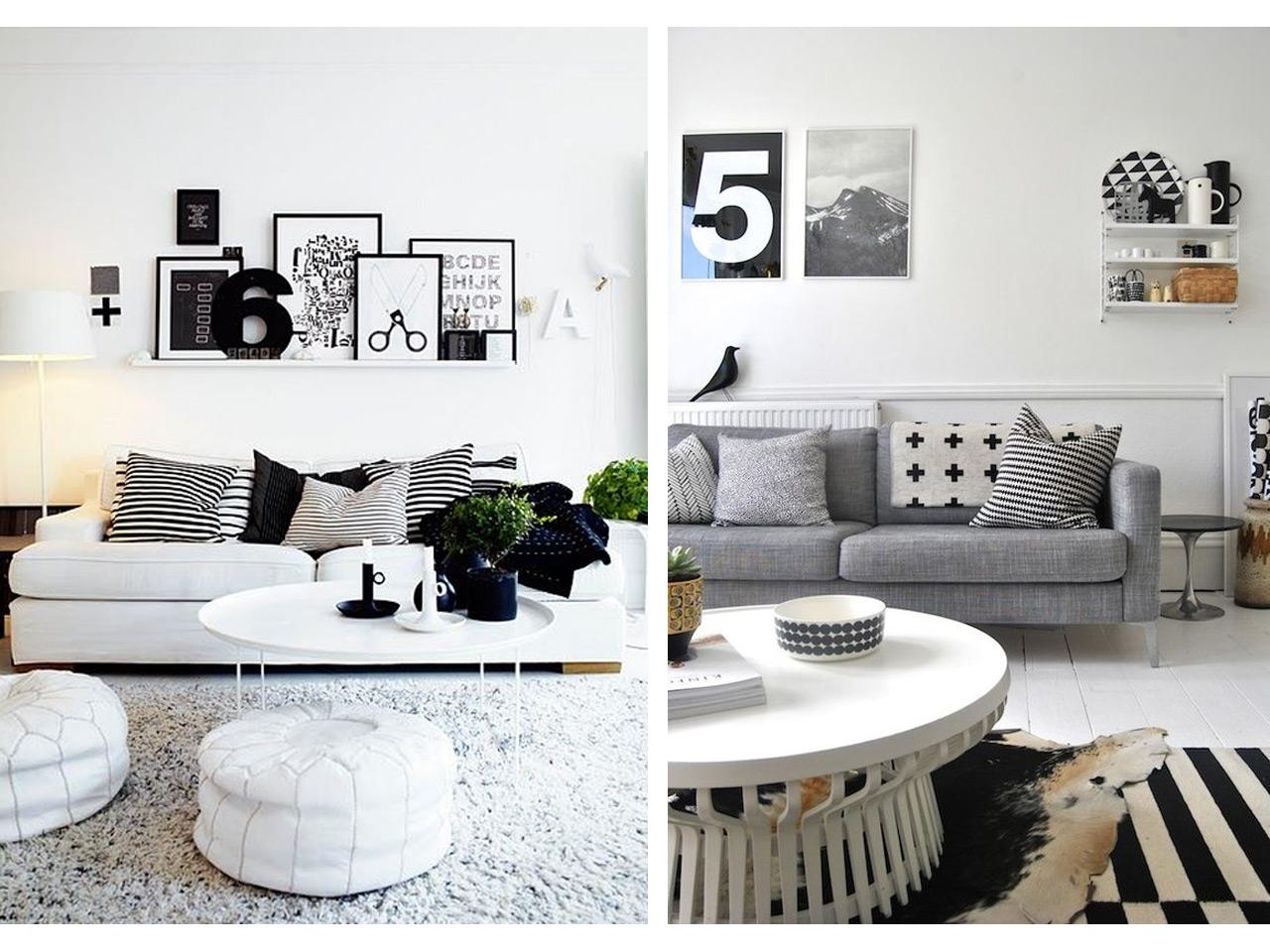La decoraci n n rdica est de moda descubre los mejores - Salones estilo nordico ...