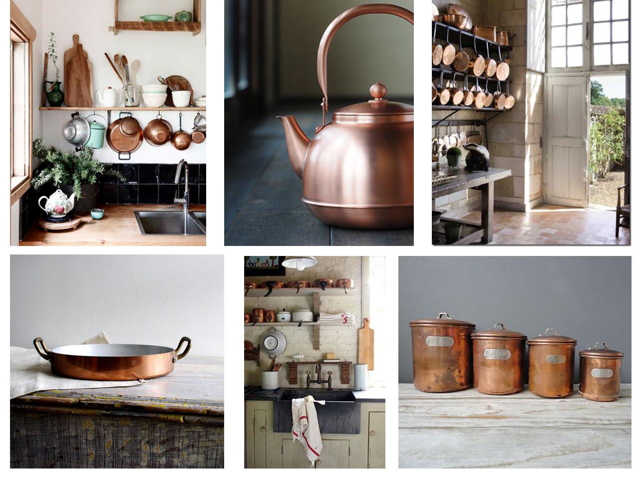 14 combinaciones impactantes de decoraci n con cobre for Decoracion hogar rustico