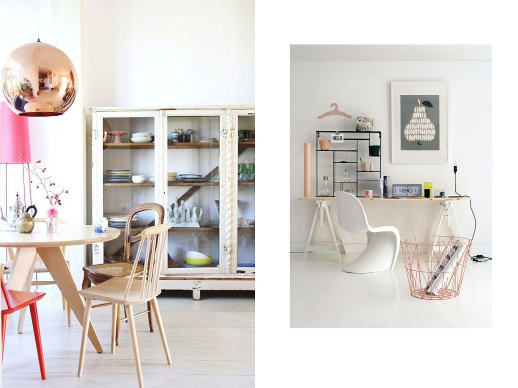 14 combinaciones impactantes de decoraci n con cobre - Decoracion iluminacion ...