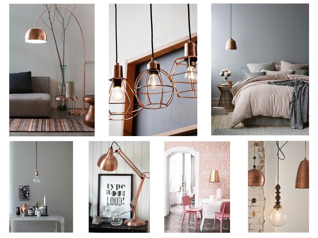 14 combinaciones impactantes de decoraci n con cobre for De que color con el topo para una cocina