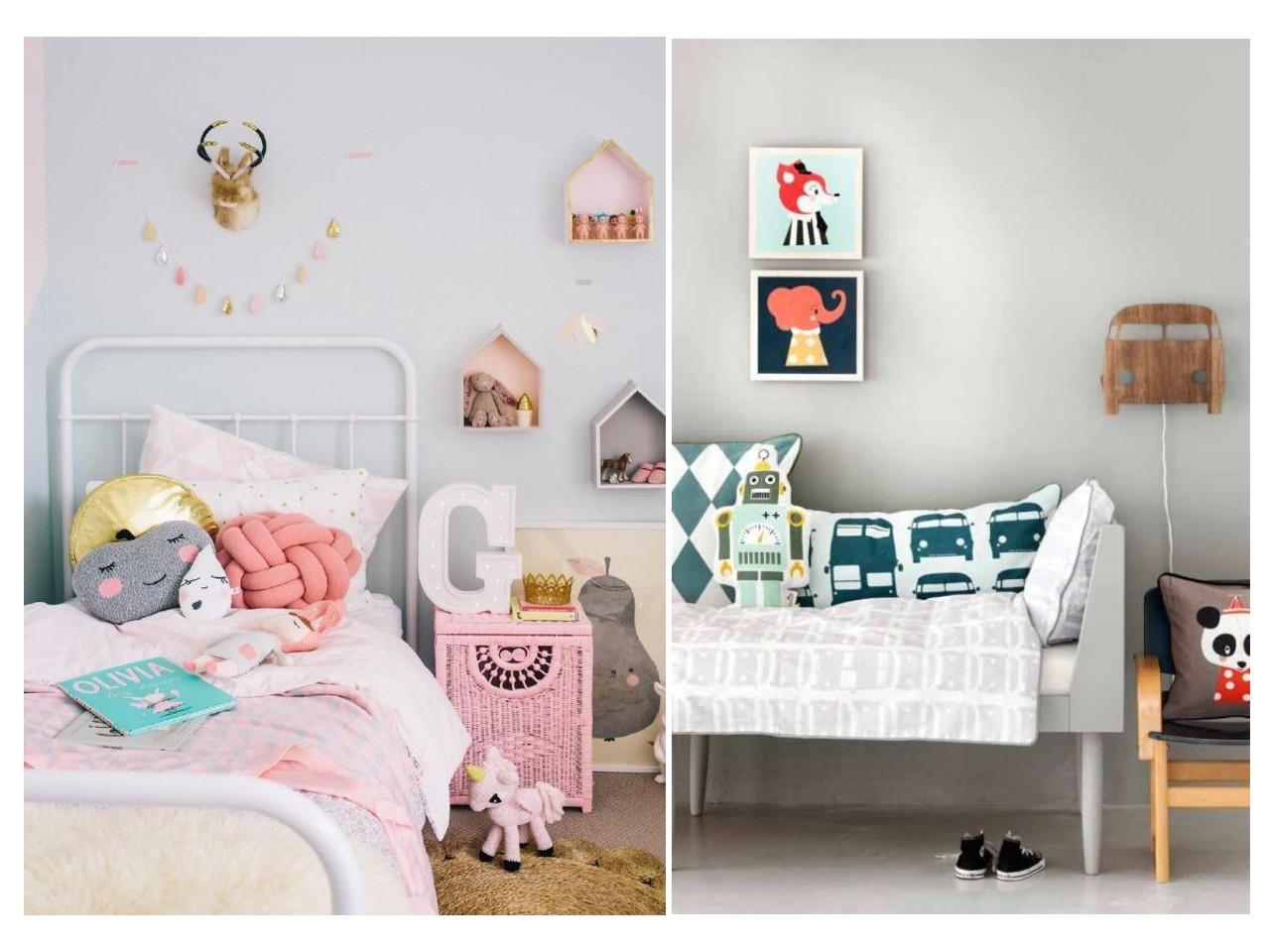Habitaciones infantiles el gris no tiene porque ser - Habitaciones de ninos pintadas ...