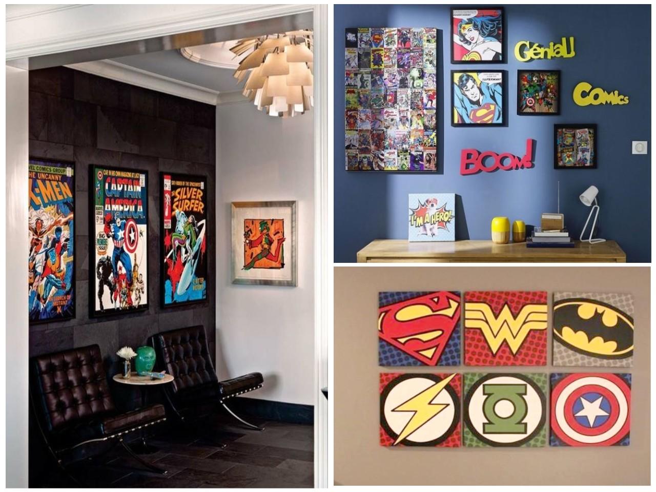 Inspiraci n c mic saca el h roe que hay en ti for Dormitorio super heroes