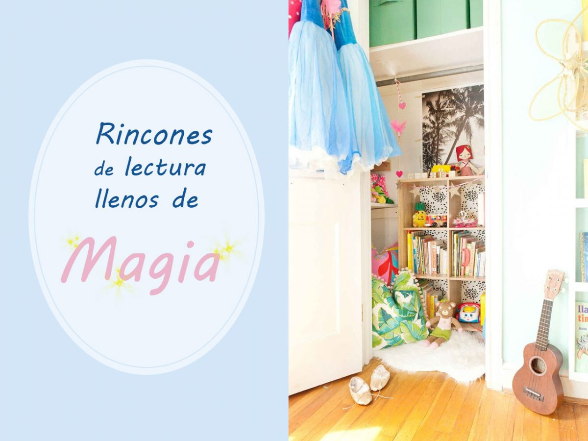 Rincones m gicos de lectura inspiraci n y mobiliario infantil for Libros de decoracion