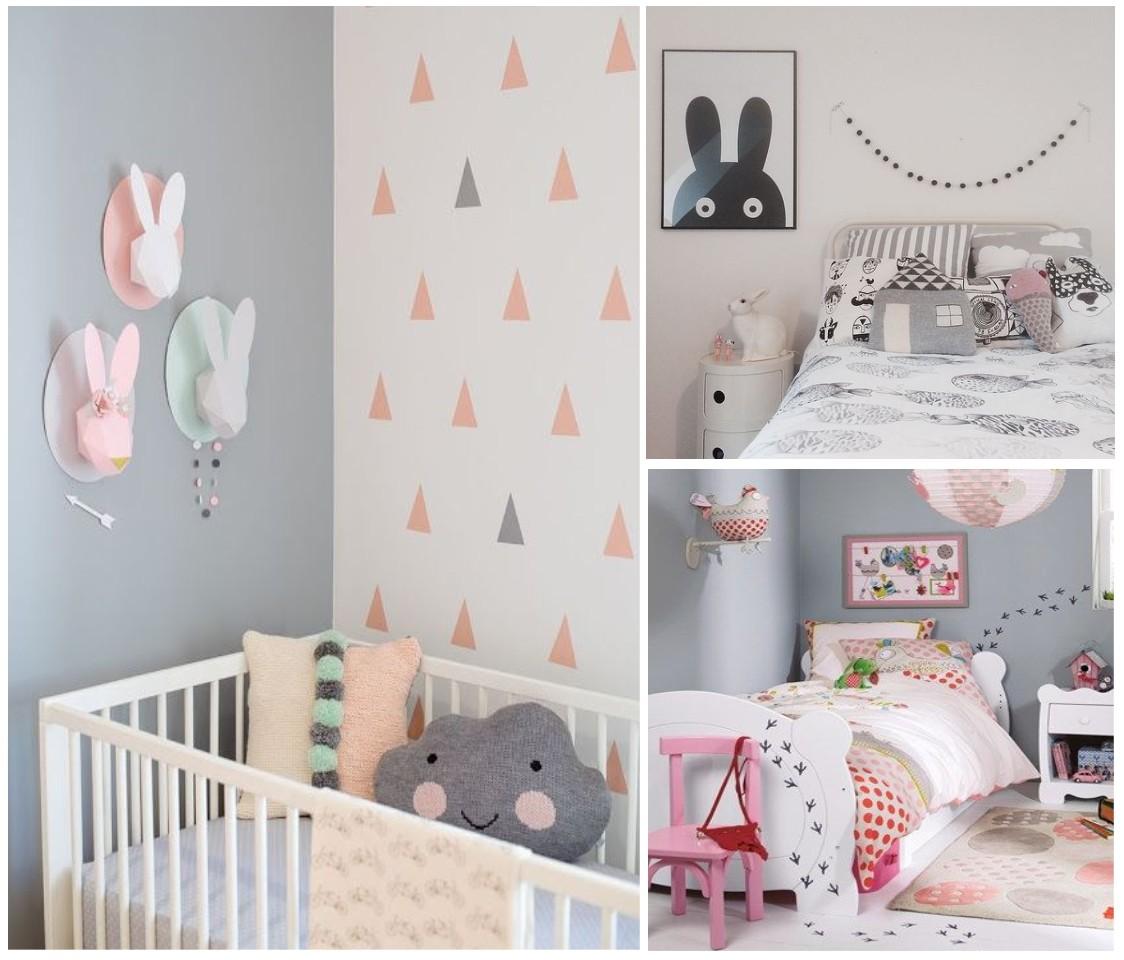 Habitaciones infantiles el gris no tiene porque ser for Decoracion habitacion nina gris y rosa