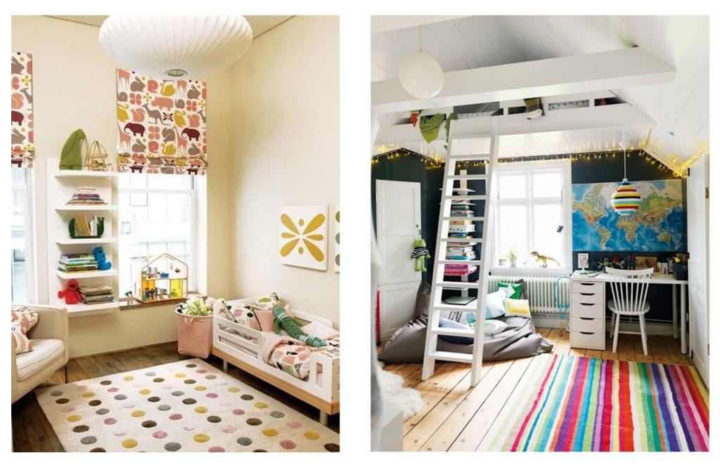 alfombras baratas: niños
