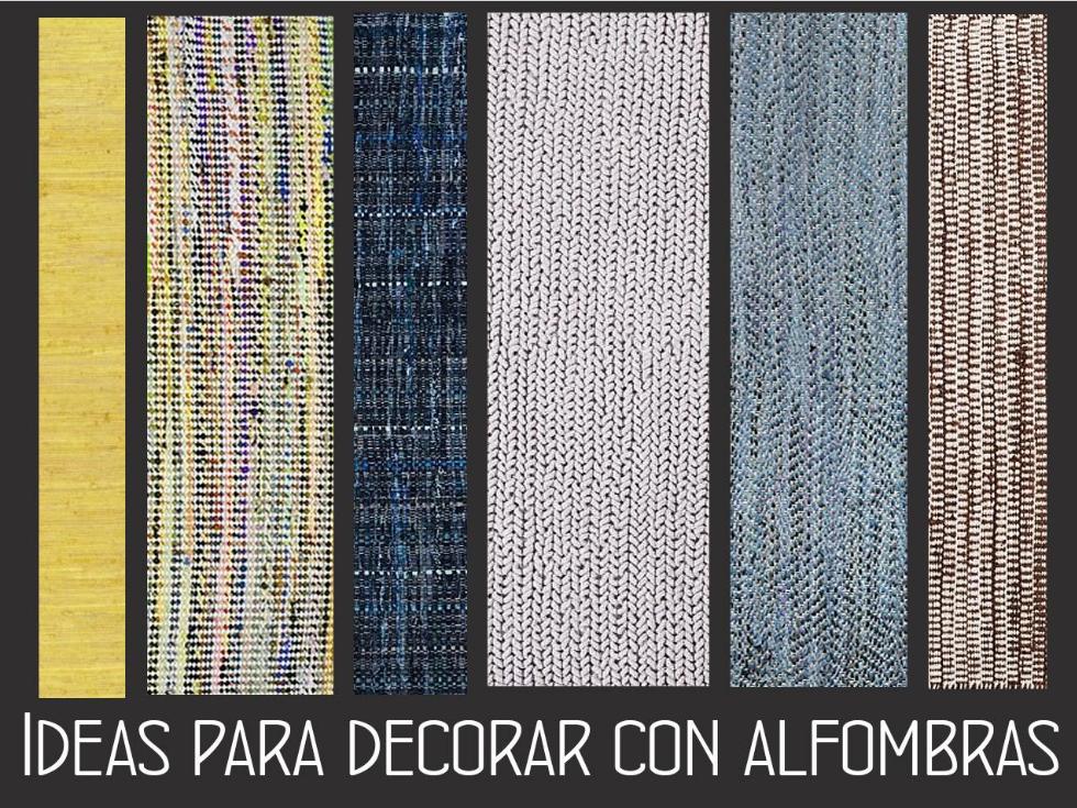 Todas las funciones que tienen las alfombras baratas