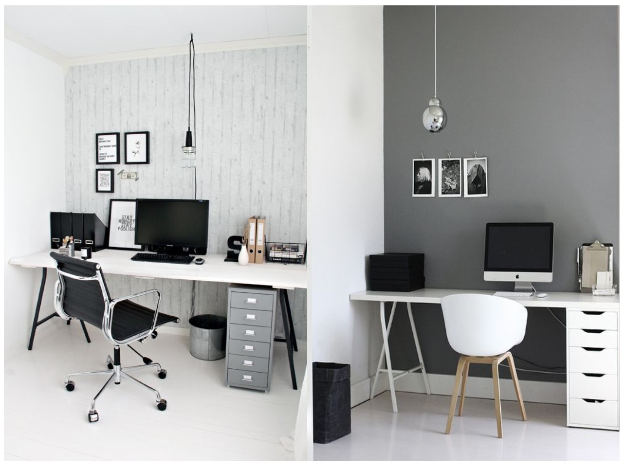 12 tips para conseguir un estudio en blanco y negro perfecto for Decoracion para minidepartamentos