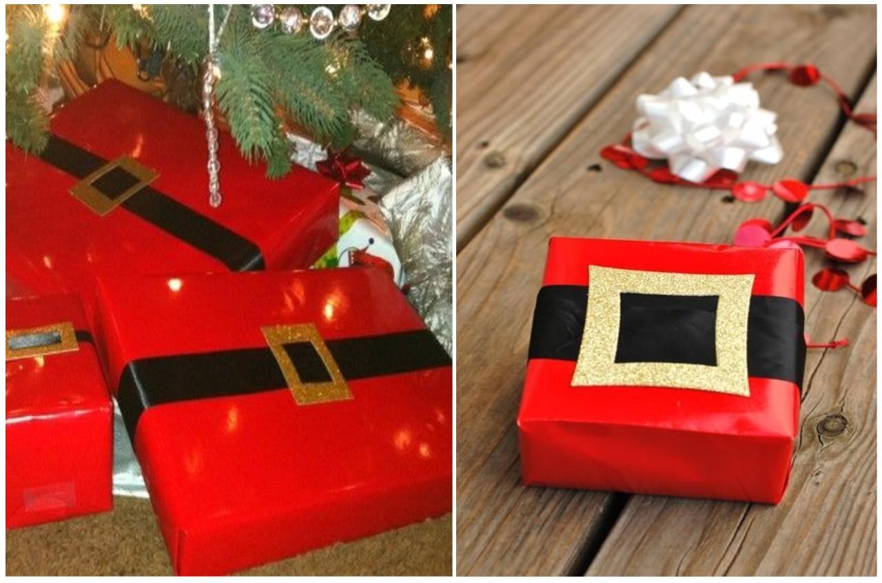 Decoraci n navidad m s ideas para envolver diferente - Papa noel decoracion navidena ...