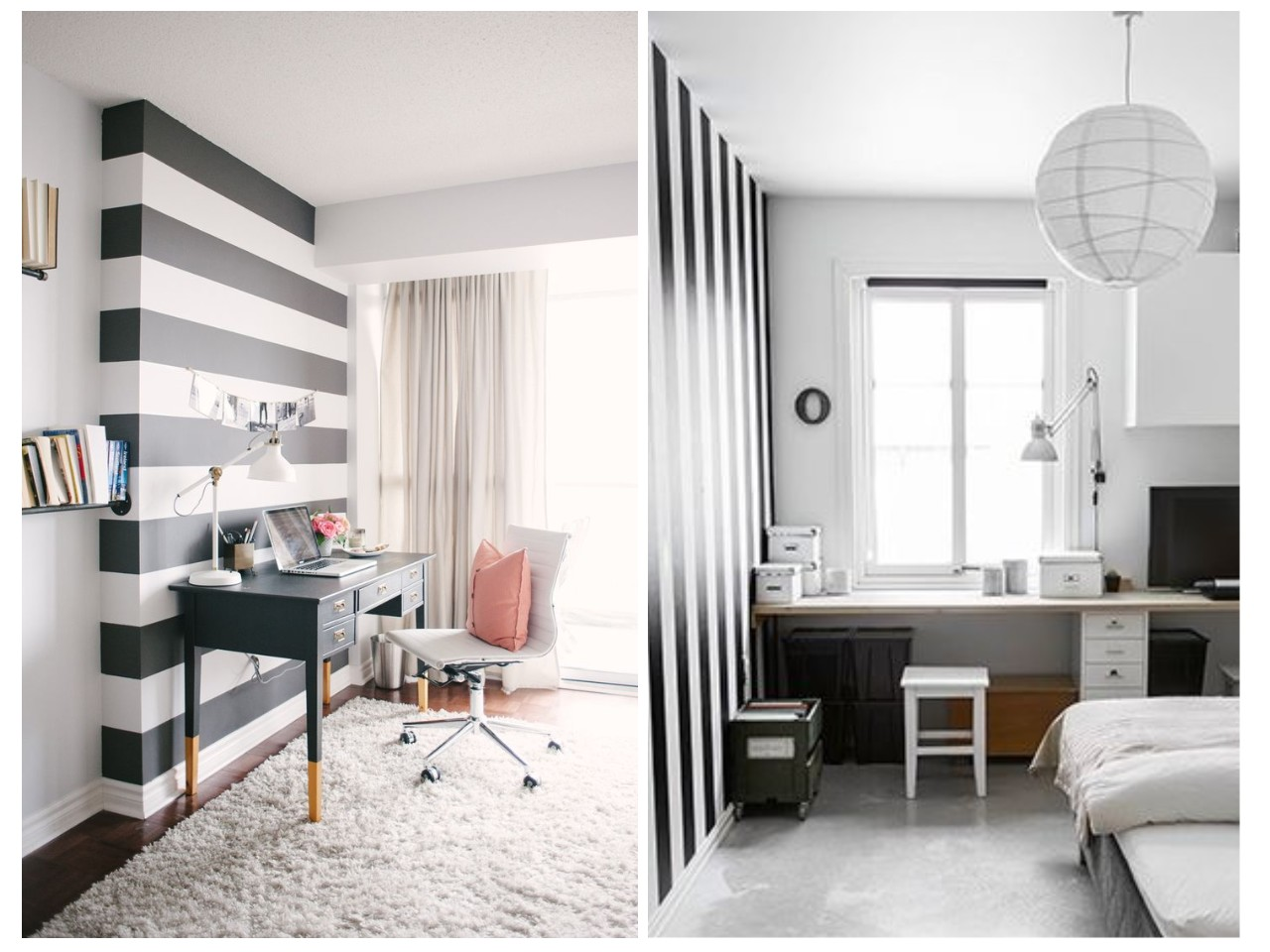 12 tips para conseguir un estudio en blanco y negro perfecto for Decoracion blanco y gris