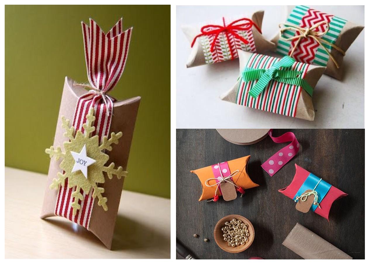 Decoraci n navidad otra forma de envolver es posible - Decoracion navidad papel ...