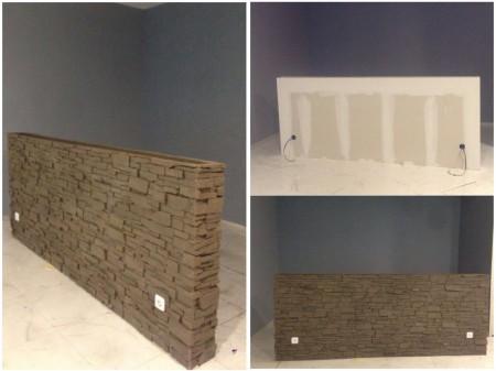 Decoración dormitorio: trabajo muro