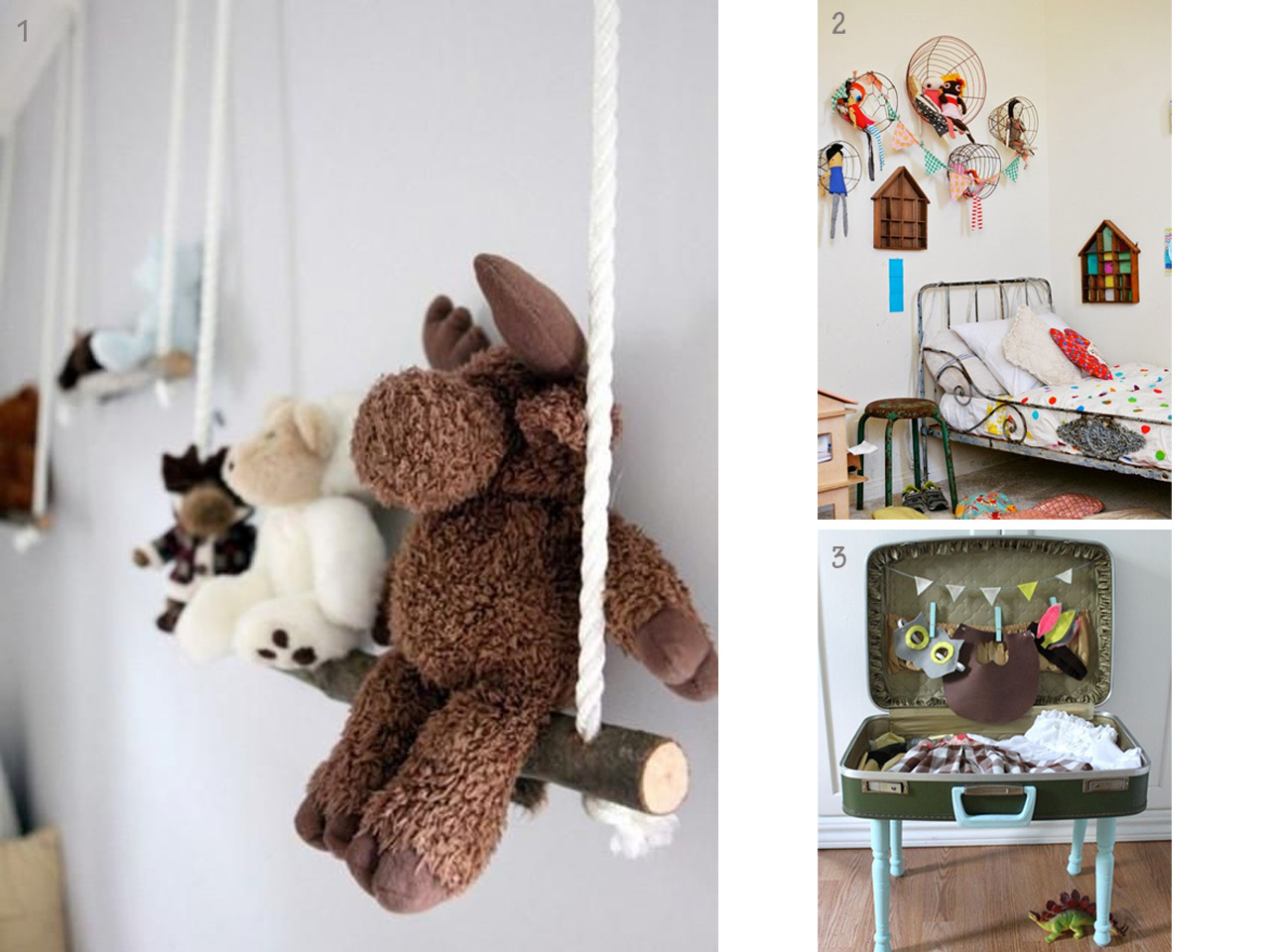 Muebles infantiles y fant sticas ideas para el cuarto de for Cosas para decorar el cuarto