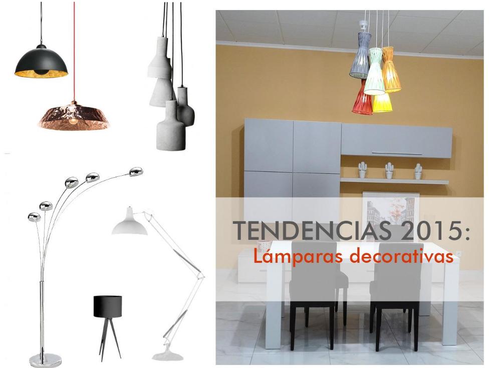 TENDENCIAS 2015: Lámparas decorativas con mucho estilo