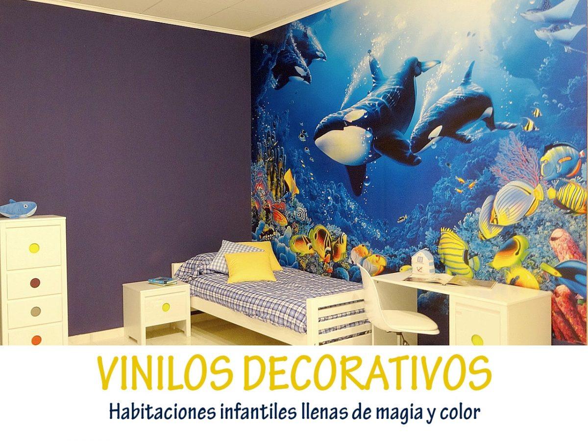 Vinilos Originales Para Habitaciones Infantiles.Vinilos Decorativos Habitaciones Infantiles Llenas De Magia Y Color