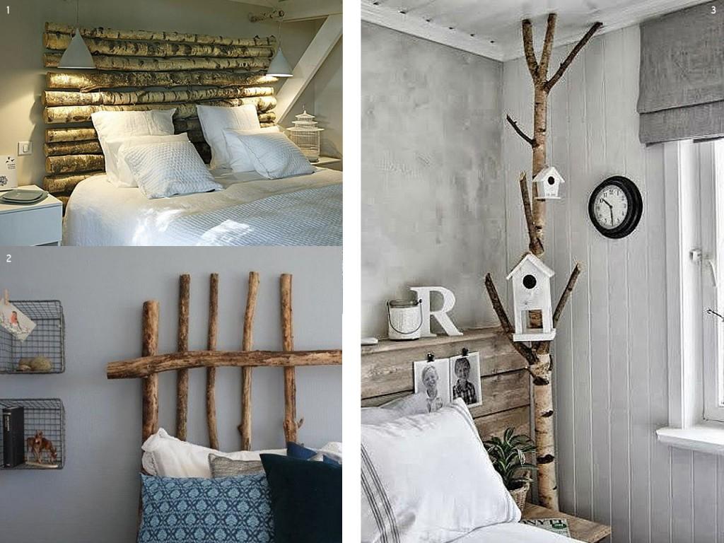 El bosque en casa ramas troncos y manualidades en madera - Ideas para decoracion rustica ...