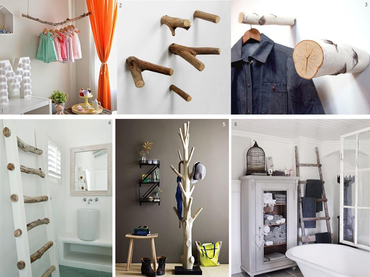 El bosque en casa ramas troncos y manualidades en madera - Ideas para hacer un cabecero original ...