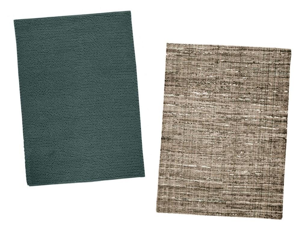 Modelo Rodeo de la línea de alfombras modernas y modelo Harris de la línea de alfombras modernas baratas de Dicoro.