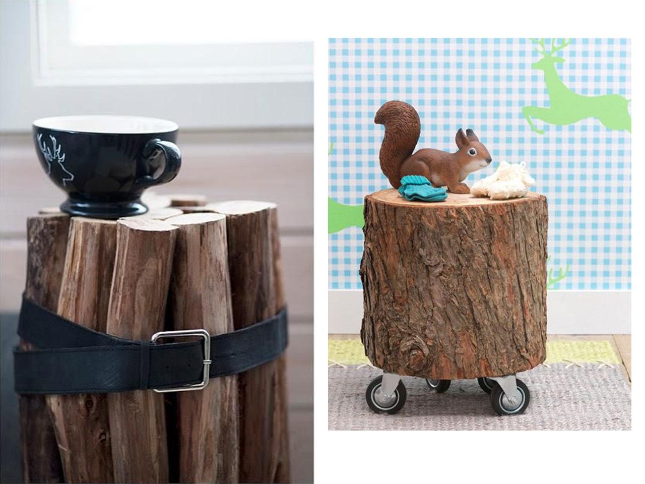 El Bosque En Casa Ramas Troncos Y Manualidades En Madera ~ Manualidades De Madera Reciclada