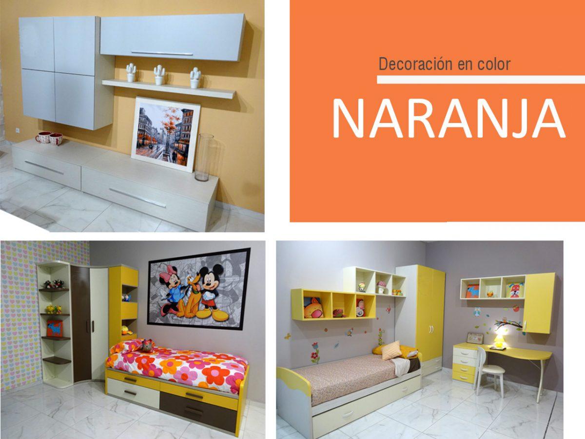 La decoración en color naranja ¡Vibrante y enérgico!