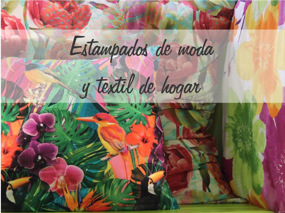Estampados de moda y textiles que enriquecerán tu hogar