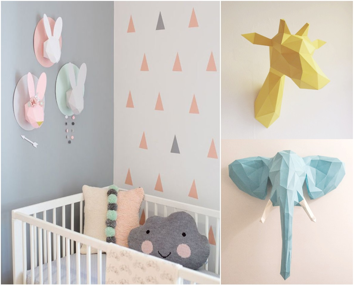 12 ideas econ micas para decorar habitaciones infantiles for Pared habitacion infantil