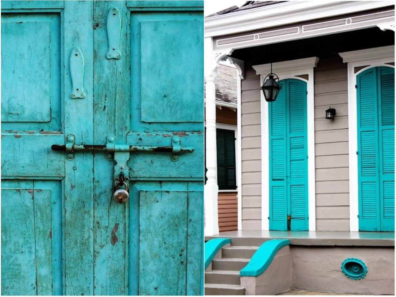 22052f99026d Decoración en color azul: viaje a los mares del sur