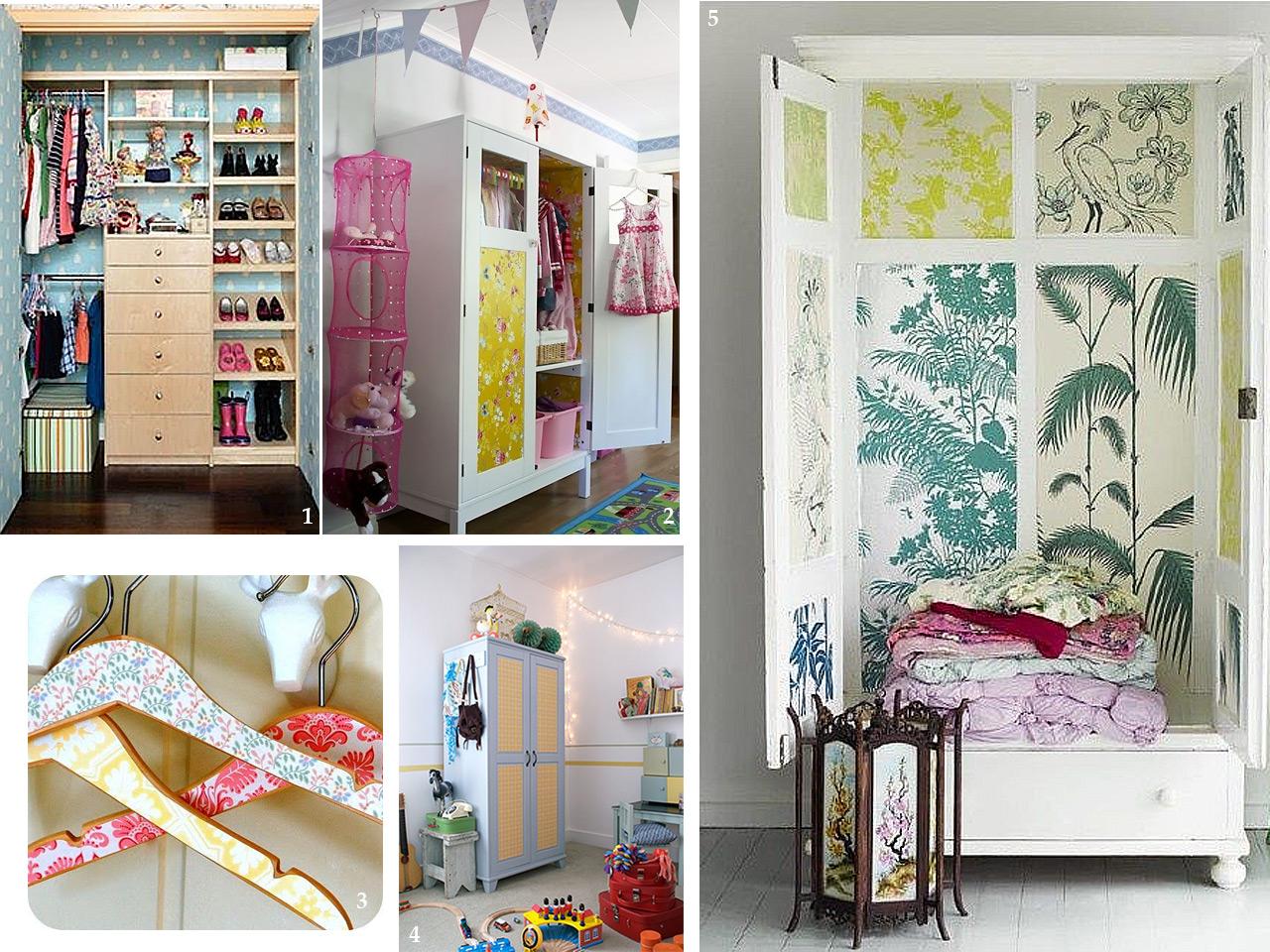 Propuestas diferentes para decorar con papel pintado - Habitaciones papel pintado ...