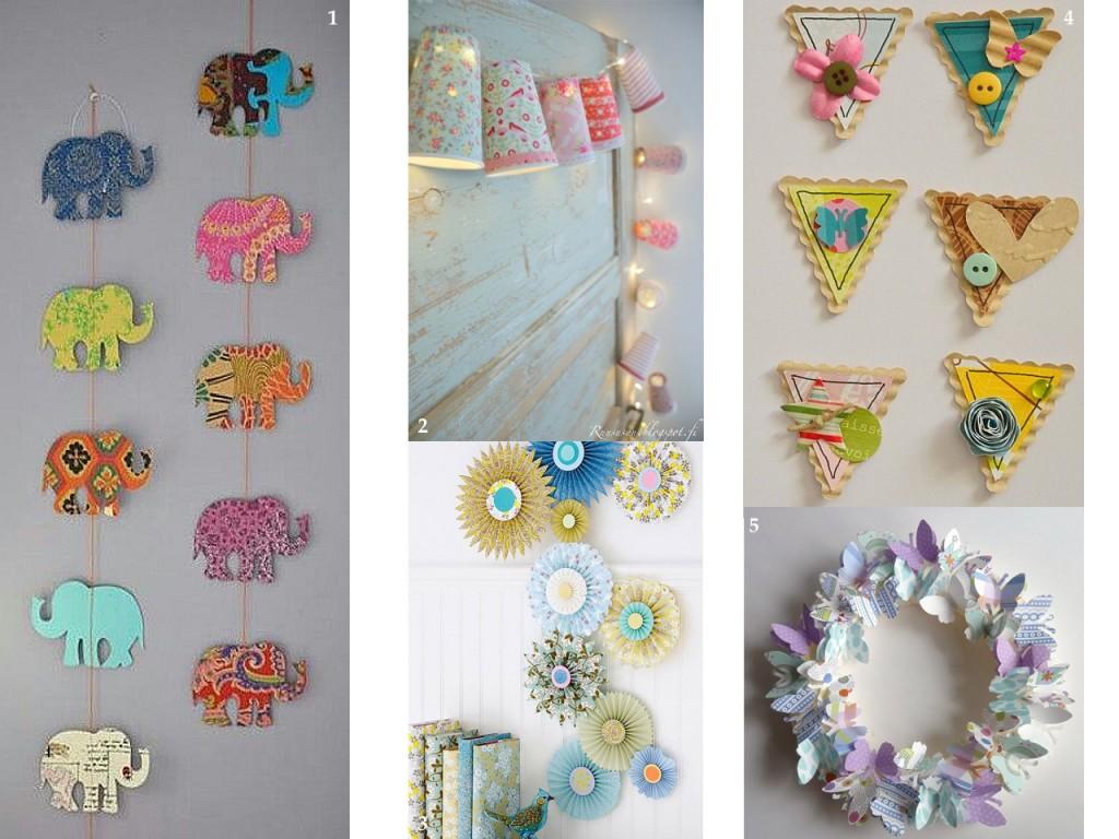 Propuestas diferentes para decorar con papel pintado - Papel infantil para pared ...