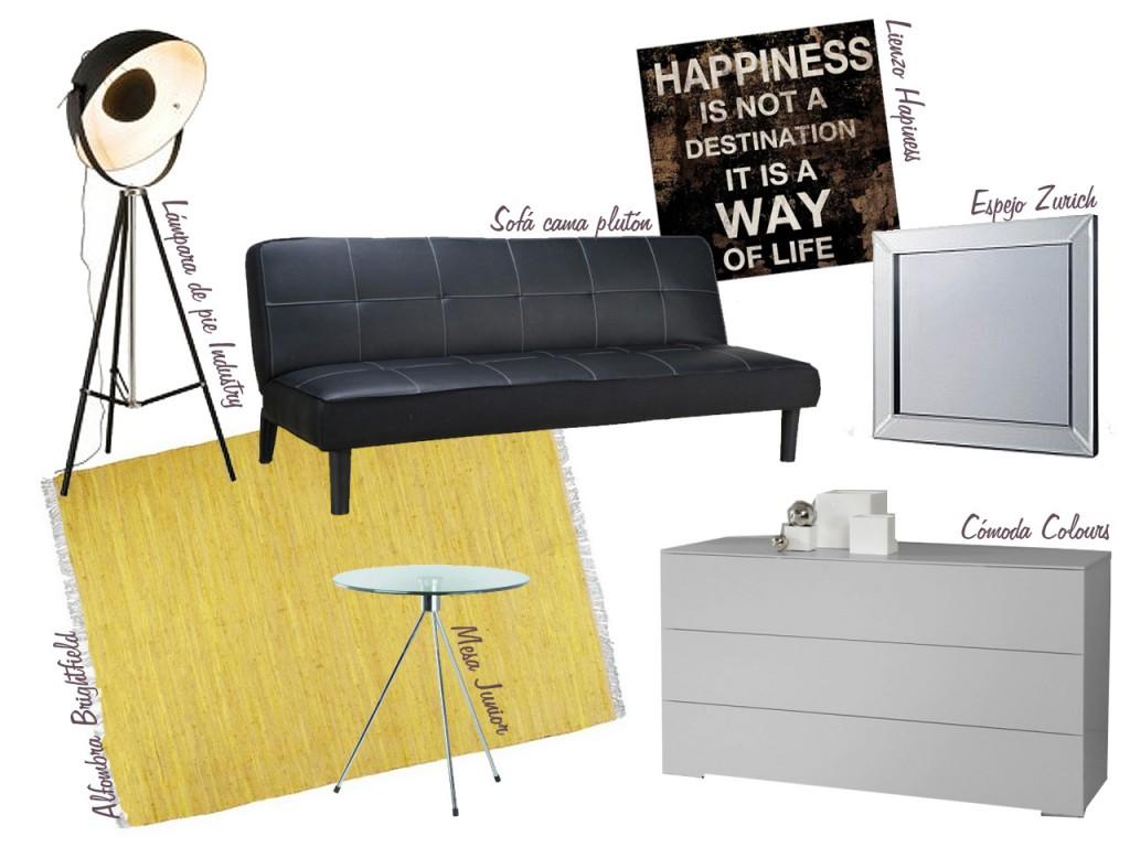 consejos para decorar tu habitación multiusos : muebles2