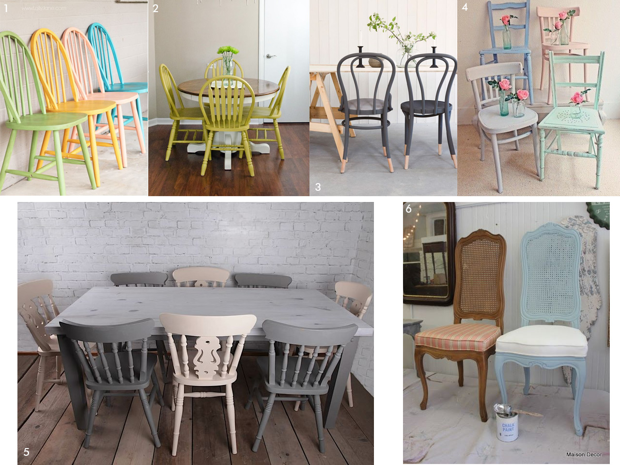 Chalk paint las pinturas a la tiza m s chulas y f ciles for Muebles restaurados antes y despues