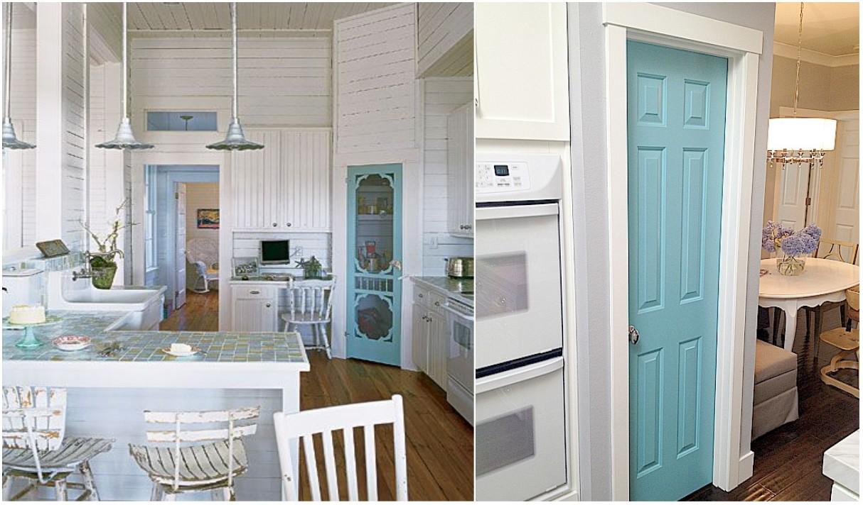 C mo pintar las puertas de casa ideas e inspiraci n - Ideas para reformar cocina ...