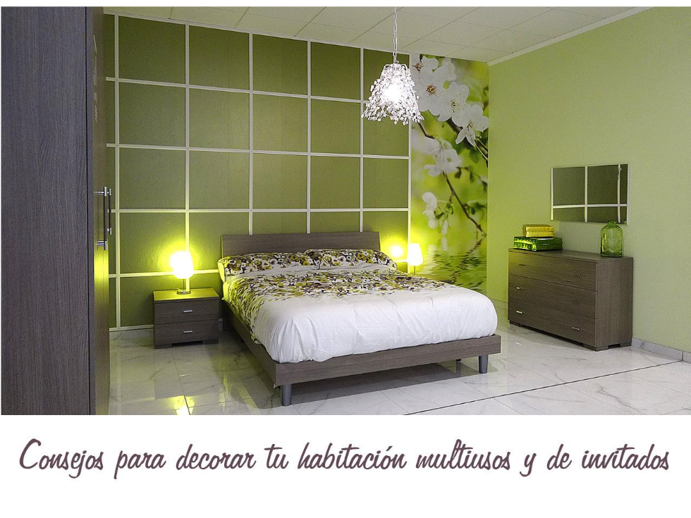 Consejos para decorar tu habitaci n multiusos for Decorar habitacion despacho