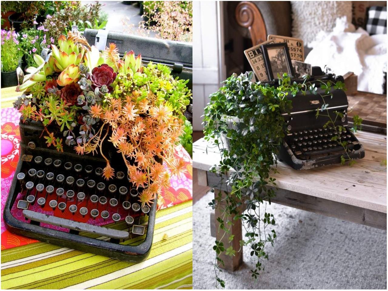 13 mini jardines originales para una primavera diferente for Casas de plastico para jardin