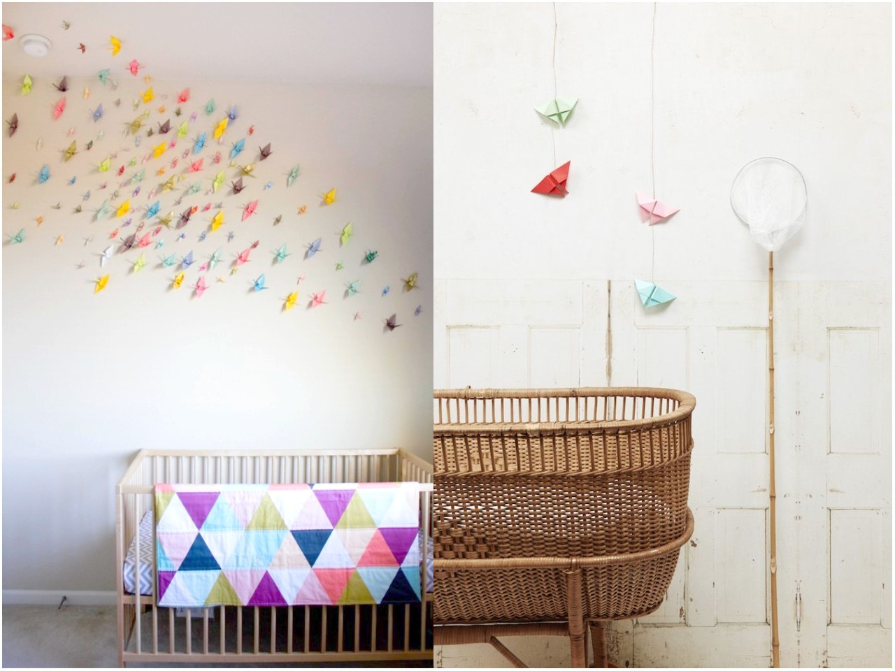12 ideas econ micas para decorar habitaciones infantiles for Paredes bonitas