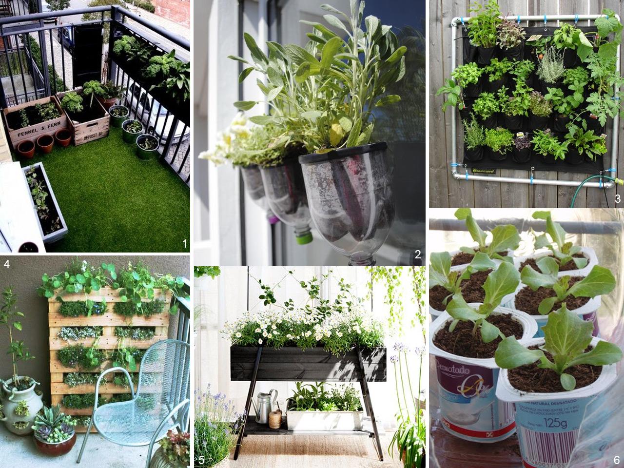 5 consejos para decorar balcones peque os con encanto - Decoracion de balcones con plantas ...