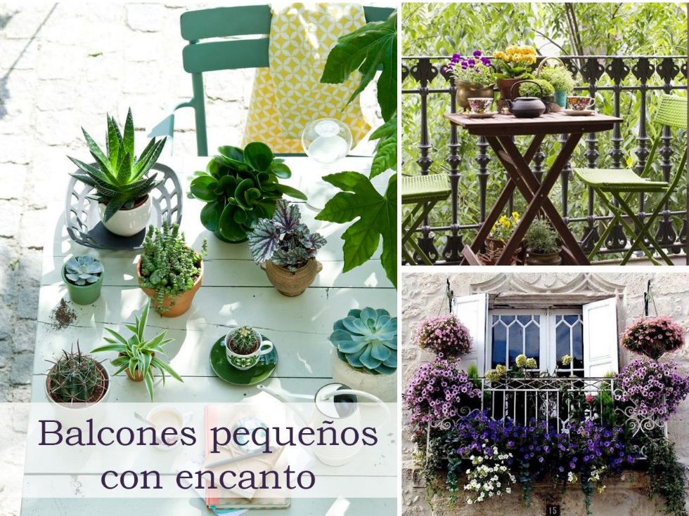 5 consejos para decorar balcones peque os con encanto for Decoraciones para decorar