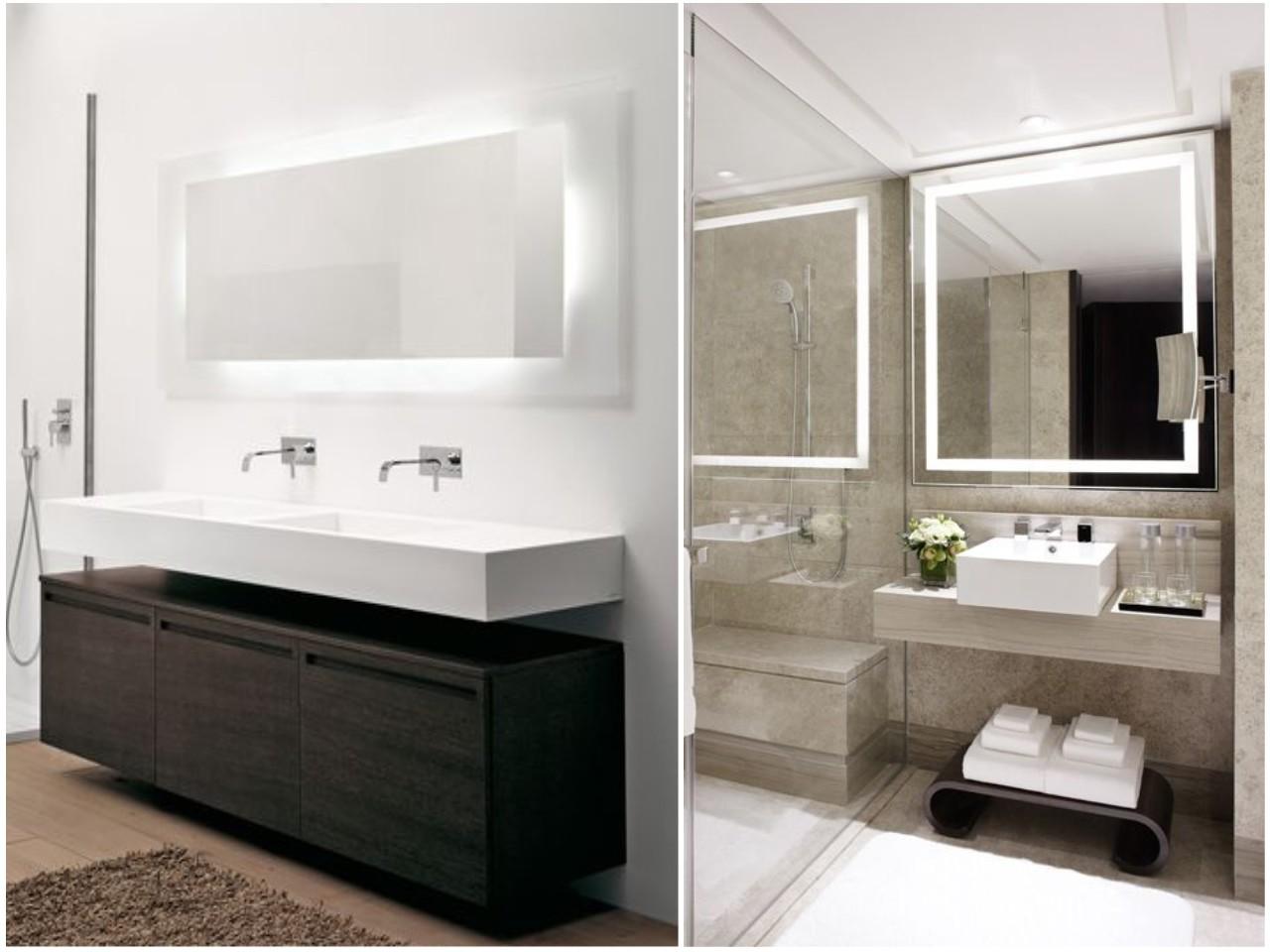 8 ideas trending para decorar ba os con estilo - Luz para banos ...