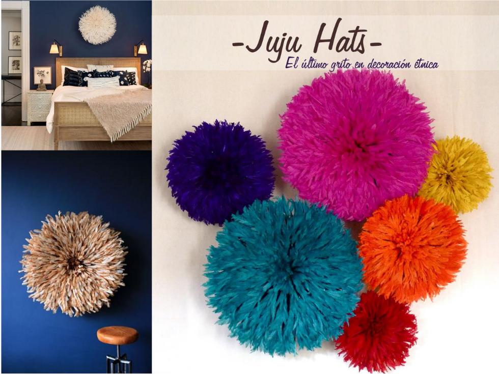 Juju hats: el último grito en decoración étnica Africana